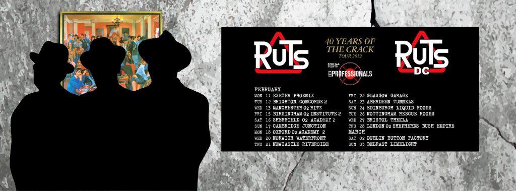 40 years of The Crack tour dates RutsDC